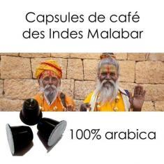 Capsules Café Indes Malabar Parenthese Café
