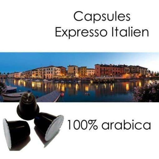 Capsules café Expresso Italien Parenthese Café