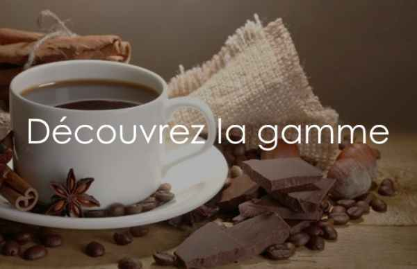 Découvrez la gamme de cafés, thés, infusions, biscuits et chocolats - Des produits d'exception en vente à domicile