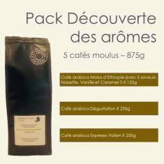 Pack Café Découverte des arômes Parenthese Café