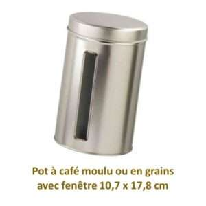 Pot café moulu ou en grains Parenthese Café Vente à domicile
