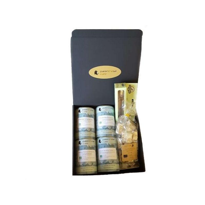 Coffret Infusions Bio Parenthese Café