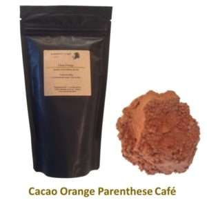 Cacaos Orange Parenthese Café - Vente a domicile