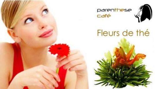 Fleurs de thé Parenthese Café - Vente a domicile