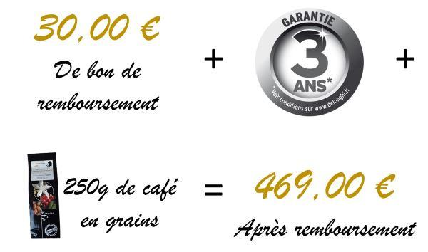 Promotion sur machine Dinamica Parenthese Café