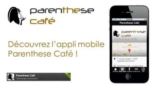 Appli mobile Parenthese Café small