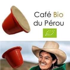 Capsules de café Bio du Pérou Parenthese Café