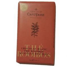 Chocolat blanc au thé rooibos vaille des Iles - Parenthese Café