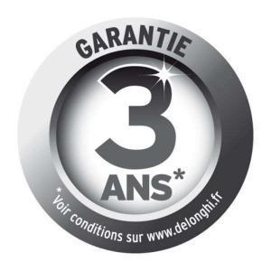 Garantie 3 ans Delonghi Parenthese Café