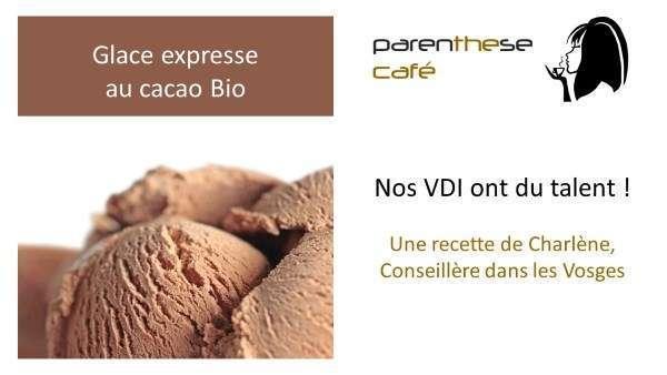 Glace au cacao Bio Parenthese Café