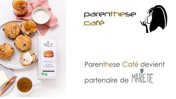 Parenthese Café devient partenaire de Marlette
