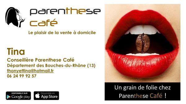 Tina G13 - Conseillère Parenthese Café