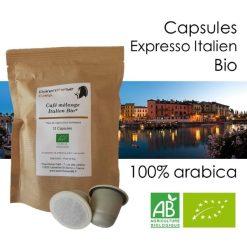 Capsules Expresso Italien Bio - Parent