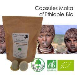 Capsules Moka d'Éthiopie Bio Parenthese Café
