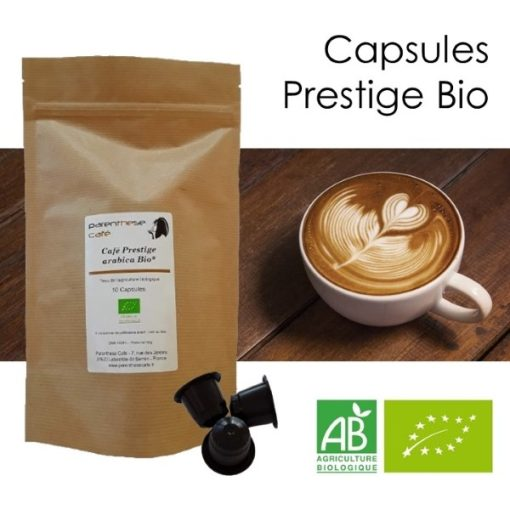 Capsules Prestige Bio Parenthese Café