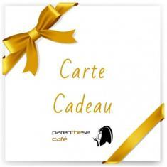 Carte cadeau Parenthese Café