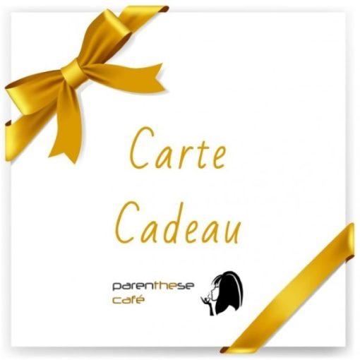 Carte cadeau Parenthese Café