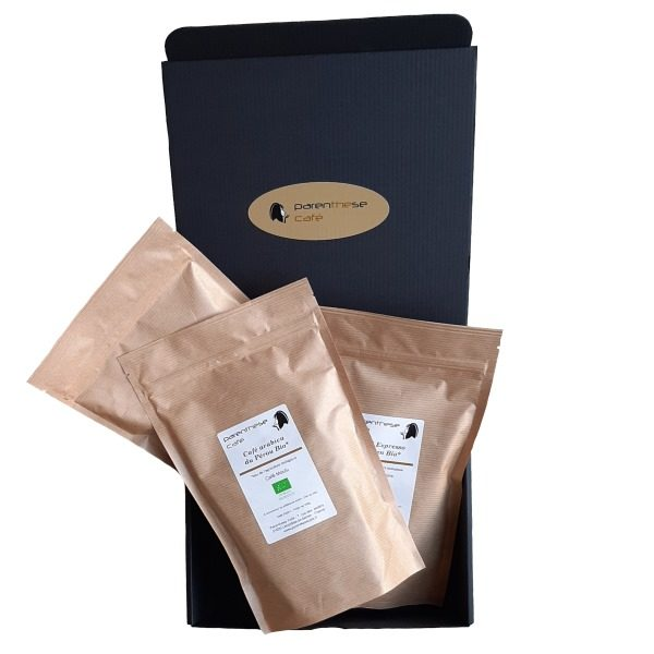 Coffret composable des cafés Bio - Parenthese Café