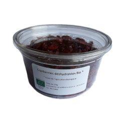 Cranberries déshydratées Bio Parenthese Café - Boîte