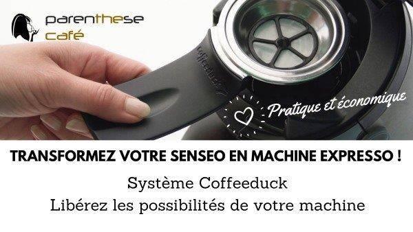 Dosettes permanentes Coffeeduck - Parenthese Café