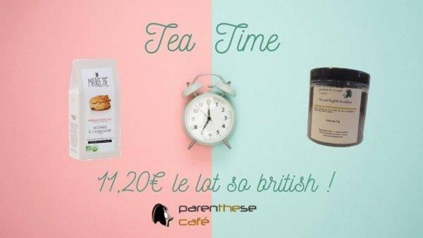 Escapade en Angleterre - Offre Tea Time Parenthese Café