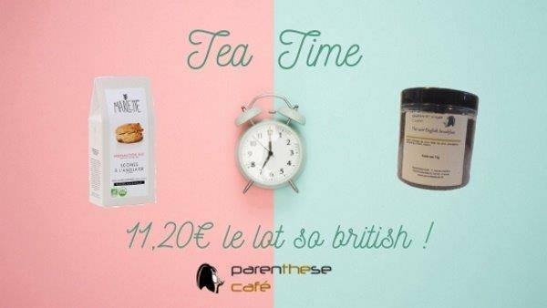 Escapade en Angleterre - Offre Tea Time Parenthese Café