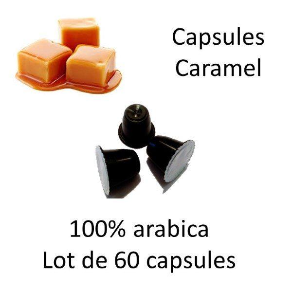 Lot de 60 capsules caramel - Parenthese Café