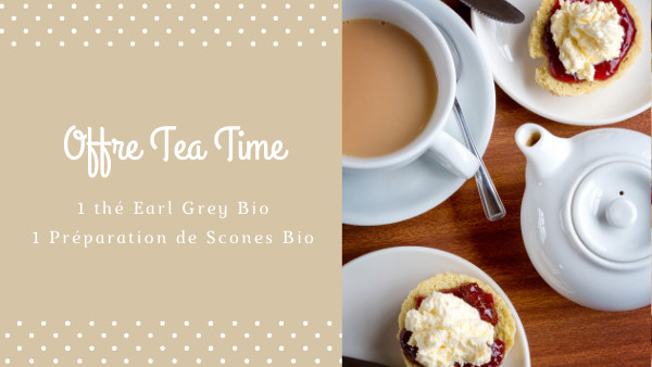 Offre Tea Time - Parenthese Café