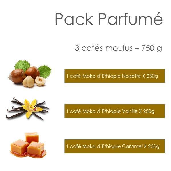 Pack Parfumé 750g - Parenthese Café