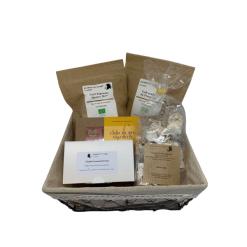 Panier capsules et chocolats - Parenthese Café