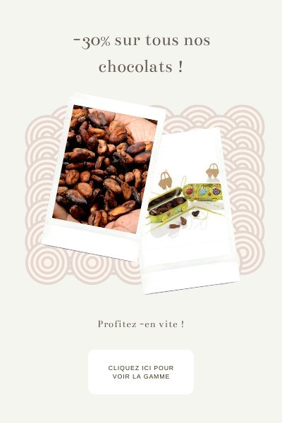 Popup -30% sur les chocolats