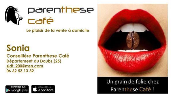 Sonia B25 - Conseillère Parenthese Café