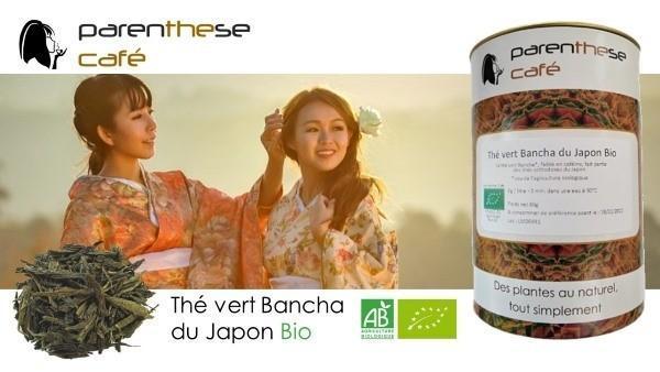 Thé vert Bancha du Japon Bio - Parenthese Café