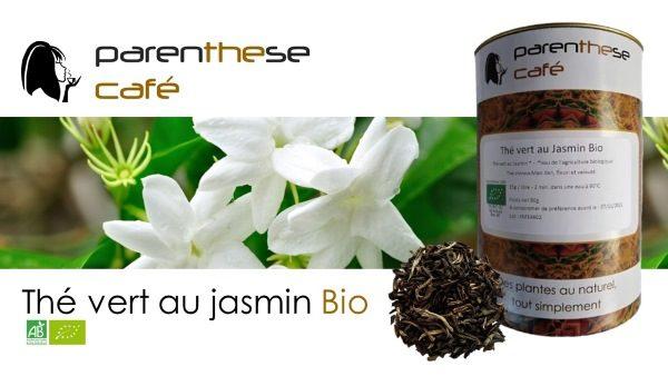 Thé vert au jasmin Bio Parenthese Café
