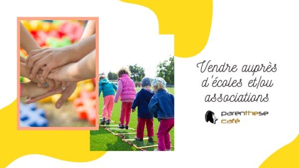 Collecte de fonds auprès des écoles et des associations - Parenthese Café